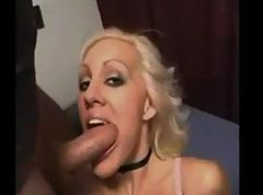dream blonde sucking cock
