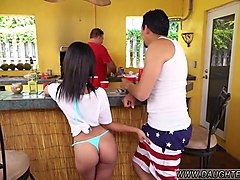 megan rain friends daughter holly hendrix has some fun with her dads friend