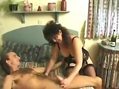 Husband Films British Wife MILF With a Friend