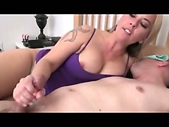 my neighbor's curvy wife likes to jerk me off when her hubby is at work