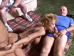 Husband Lets His Wife Suck And Fuck Three Strange Cocks