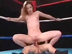 Slut gives ass dwarf