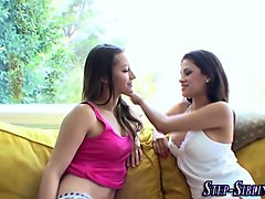 hot sisters have taboo fuck session at home