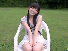 Yui Kasugano superb Japanese porn play in outdoors