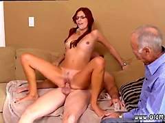 young slut rides an old man like a real champ