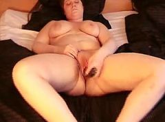 Chubby amateur really plays