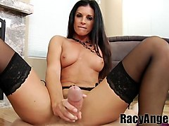Best pornstars Candice Dare, India Summer, Mark Wood in Hottest POV, MILF sex clip