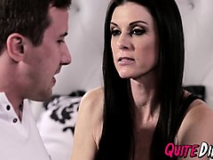 hot milf india summer with small tits handled by stepson