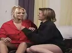 Lesbian Couple Making Love