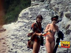 Crazy Homemade clip with Beach, Voyeur scenes