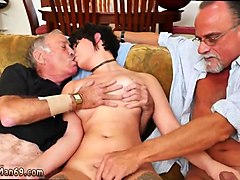 hairy old man and porn movie old and super its nice to watch how well she has filled