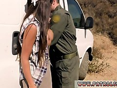 police babe  hot latina strip-searched and fucked