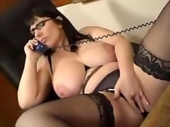 Thick mom and phone sex