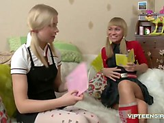 Hot Russian Teens In Stockings