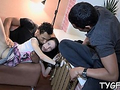 cheated on stud makes his unfaithful gf fuck with a stranger