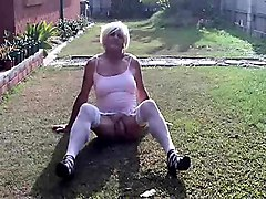 crossdresser solo that is outside