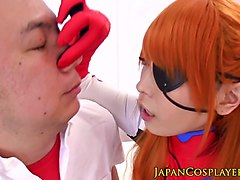 cocksucking cosplay nippon creampied in pussy