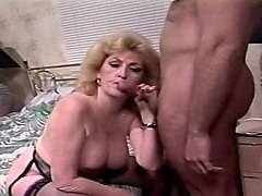 Dirty Granny Fucks Her Younger Lover