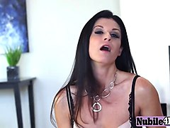 dark hair cougar india summer dirty talk story