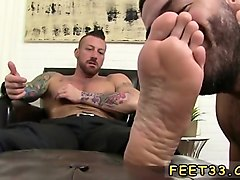 foot licking boys gay first time ricky feigns to not underst