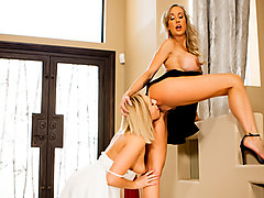 Brandi Love & Kate England  in Who's The Boss? - SweetheartVideo