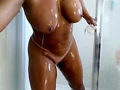 Naughty girls in the shower