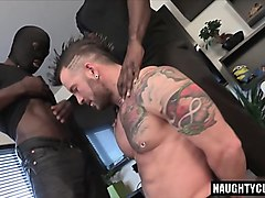 big dick son threesome with cumshot