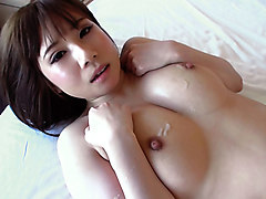 Azumi Chino in Hot MILF Loves to Get Cum on her Tits - MilfsInJapan