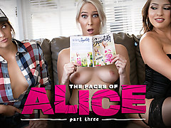 Sara Luvv & Cadence Lux in The Faces of Alice: Part Three - GirlsWay