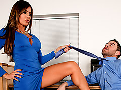 Nikki Capone & Seth Gamble in Seduced By The Boss's Wife #07, Scene #04 - DevilsFilm