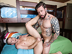 Jordan Levine & Scott Riley in Ghosts Of Christmas : A Gay XXX Parody Part 1 - DrillMyHole