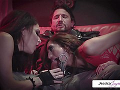 jessica jaymes - perfec threesome whit jessica chloe and tommy gunn