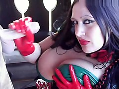 Heidi from the alps in a dirndl dress and red gloves - Blowjob Handjob - Fuck my Pussy - Fuck my tits