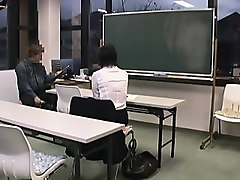 pretty japanese schoolgirl reveals her oral talents in the