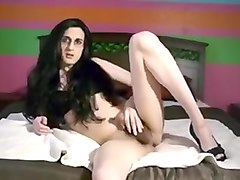 Fabulous Amateur Shemale video with Cumshot, Solo scenes