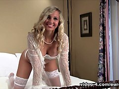 Madison in Madison Sexy In White - EuroBabesHd