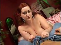 Sloppy BBW Big Tits Gets Her Pussy Shaved AND Fucked