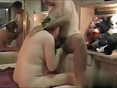 Perv husband films wife with a friend