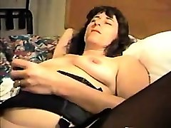 husband fistfucks his spouse- she's rubbing against her vag