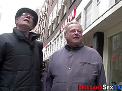 old and young sex session with some horny dutch people