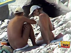 Exotic Amateur movie with Voyeur, Beach scenes