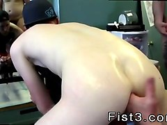 gay first time anal fisting first time saline injection for caleb