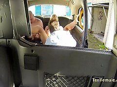 mature group banging in taxi