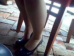 Legs Under Table #3