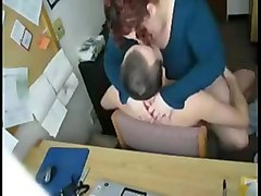 Fucking my Fat BBW Married secretary in my office