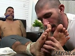 he loves his feet more than his cock