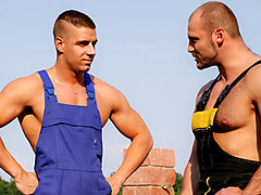 Tomm & Patvik in Men In Uniform #04 Video - MaleReality