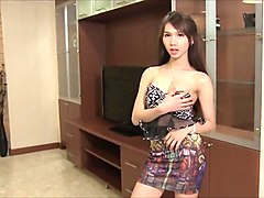 Ladyboys cumming hard - compilation - part 5