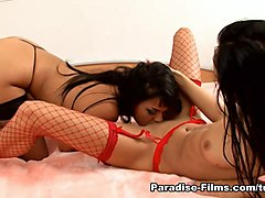 Horny pornstars Simony Diamond, Regina Moon in Amazing Lesbian, Stockings adult video