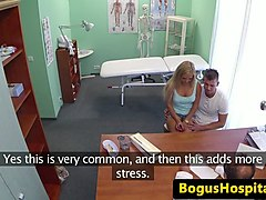 real euro couple fuck in front of voyeur doc